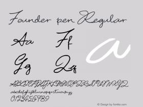Founder pen