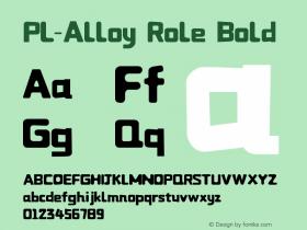 PL-Alloy Role