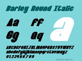 Barley Round