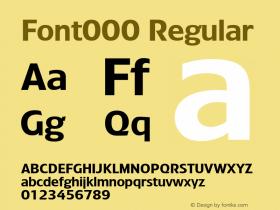 Font000