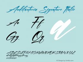 Andilanteria Signature