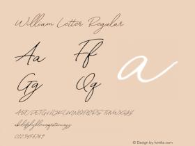 William Letter