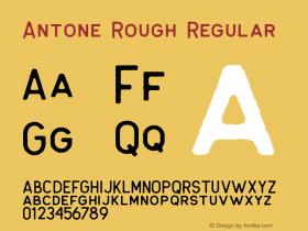 Antone Rough