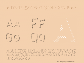 Antone Extrude Strip