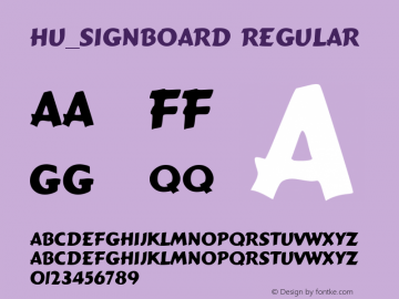 Hu_Signboard