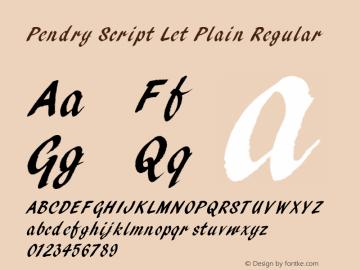 Pendry Script Let Plain