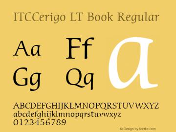 ITCCerigo LT Book