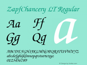 ZapfChancery LT