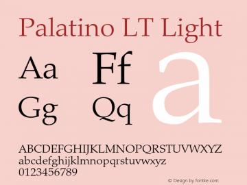 Palatino LT
