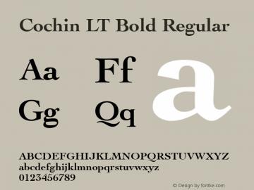 Cochin LT Bold