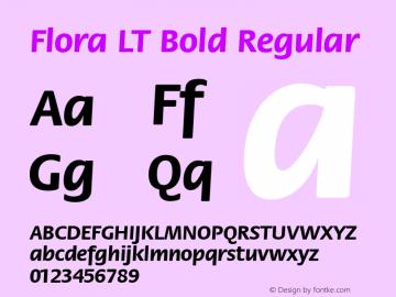 Flora LT Bold