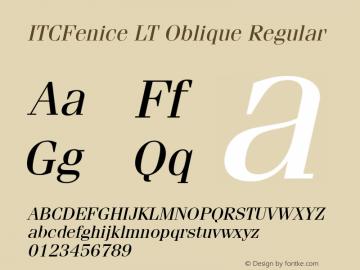 ITCFenice LT Oblique