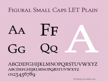 Figural Small Caps LET