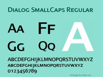 Dialog SmallCaps