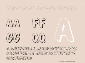 Whatafont Shadow