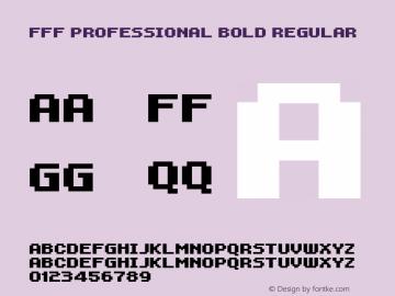FFF Professional Bold
