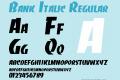 Bank Italic