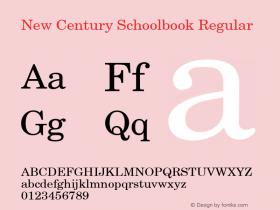 New Century Schoolbook