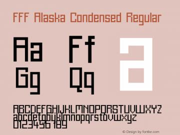 FFF Alaska Condensed