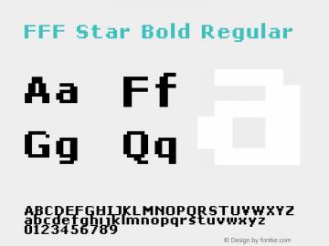 FFF Star Bold