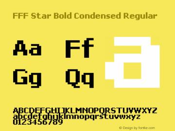 FFF Star Bold Condensed