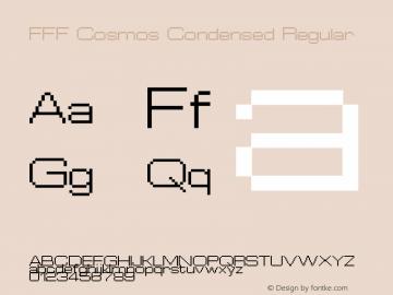 FFF Cosmos Condensed