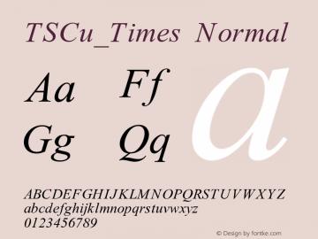 TSCu_Times
