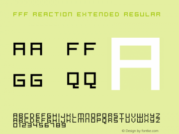 FFF Reaction Extended