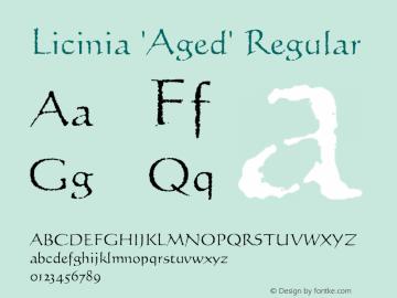 Licinia 'Aged'