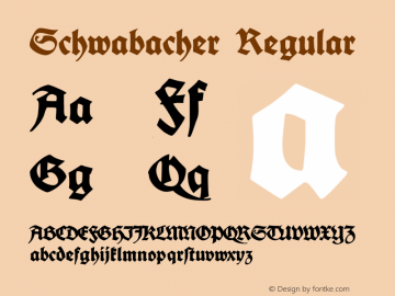 Schwabacher