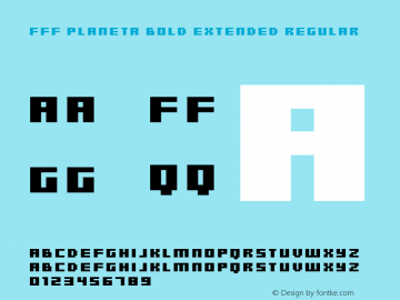 FFF Planeta Bold Extended