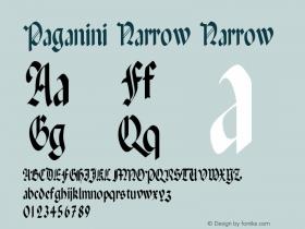 Paganini Narrow