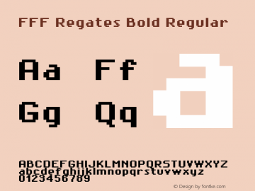 FFF Regates Bold