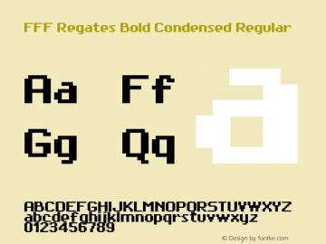 FFF Regates Bold Condensed