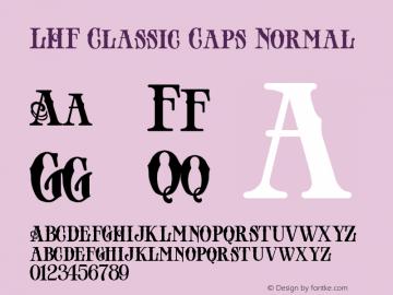 LHF Classic Caps