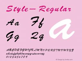 Style-