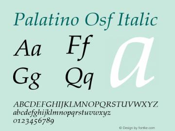 Palatino Osf