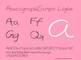AutographScript