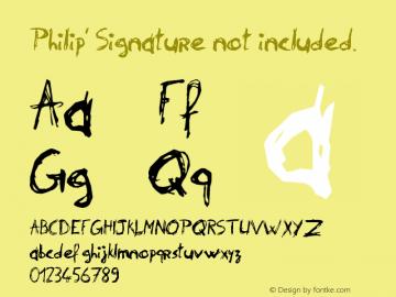 Philip' Signature