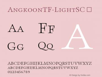 AngkoonTF-LightSC