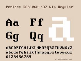 Perfect DOS VGA 437 Win