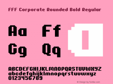 FFF Corporate Rounded Bold