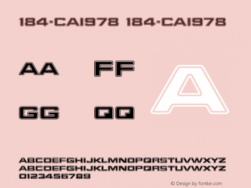 184-CAI978