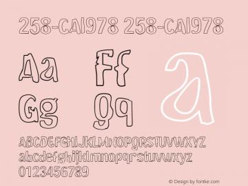 258-CAI978