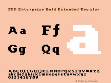 FFF Enterprise Bold Extended