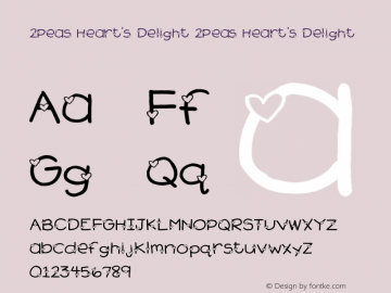 2Peas Heart's Delight