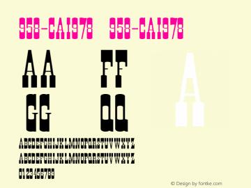 958-CAI978