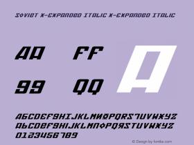 Soviet X-Expanded Italic