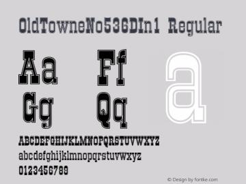 OldTowneNo536DIn1