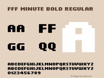 FFF Minute Bold